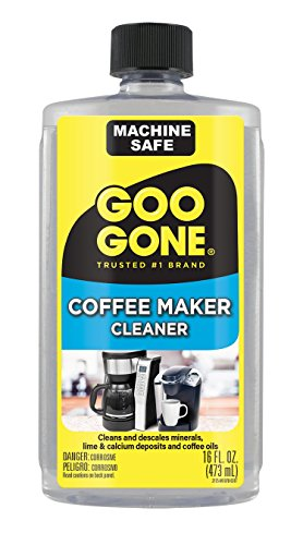 Goo Gone Coffee Maker Cleaner - Safely Removes Residue - 16 Fl. Oz ()