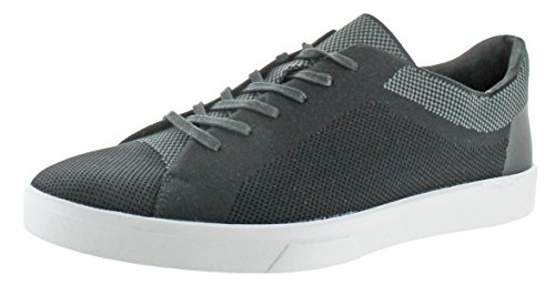 Calvin Klein Men's Ion Knit Weave Fashion Sneaker, Black, 12 M US