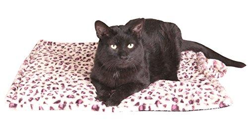 Thermal Cat Pet Dog Warming Bed Mat (Regular - White)