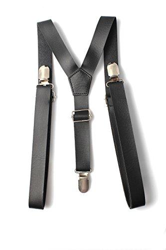 Correas Hombres En Accessoryo Pantalones Pu Ajustable Para Negro OSZqZI