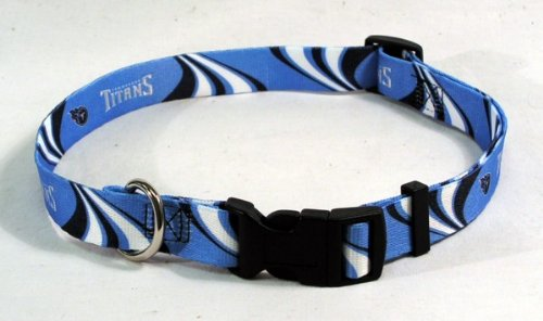Hunter MFG Tennessee Titans Dog Collar, Large