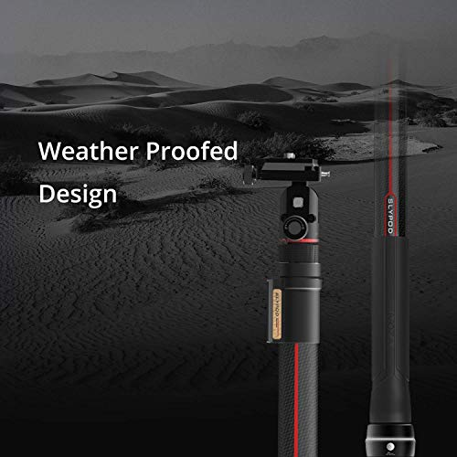 MOZA Slypod 2-in-1 Motorised Slider Monopod Accurate Position Speed Control Easy Assemble Hold Max Payload Vertical 19.8Lb Horizontal 8.8Lb for More Cinematic Possibilities
