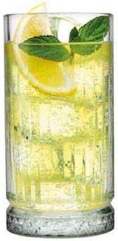SWEET HOME Bicchiere da Long Drink Confezione 12 Pezzi Professionale Modello Elysia CL 44,5 cod.BC01202LU cm 15h diam.7,6 by Varotto /& Co.