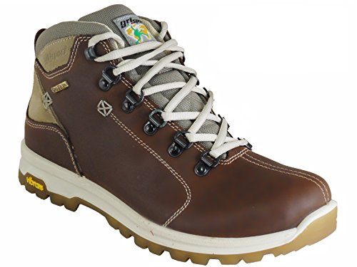 Grisport Aviator Ladies Waterproof Hiking Boots Brown