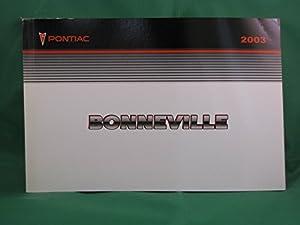 amazon com 2003 pontiac bonneville owner s manual everything else rh amazon com 2006 Pontiac Bonneville 2002 Pontiac Bonneville