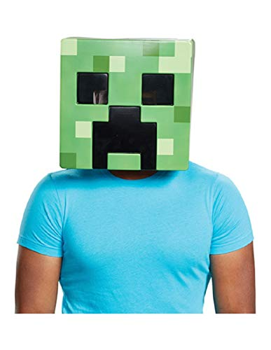 Disguise Men's Creeper Adult Mask, Green, One Size -