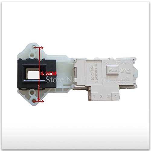 MONNY 1pcs LG washing machine time delay switch door WD-N10300DT WD-N10300D WD-N10300DJ 3 plug door lock