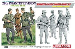 Dragon - D6344 - Maquette - Infanterie Allemande Pologne - Echelle 1:35