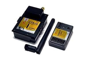 RCECHO® Corona Modelo RC 2.4GHz R/C Módulo RF CT8JD Aficiones FHSS y receptor RS816 CR8FD con RCECHO® Full Version Edition Aplicaciones