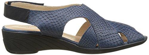 Luxat Crome - Zapatos Mujer Azul (Bleu)