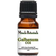 Miracle Botanicals CO2 Extracted Galbanum Essential Oil - 100% Pure Ferula Galbaniflua - 5ml, 10ml, or 30ml Sizes - Therapeutic Grade - 10ml