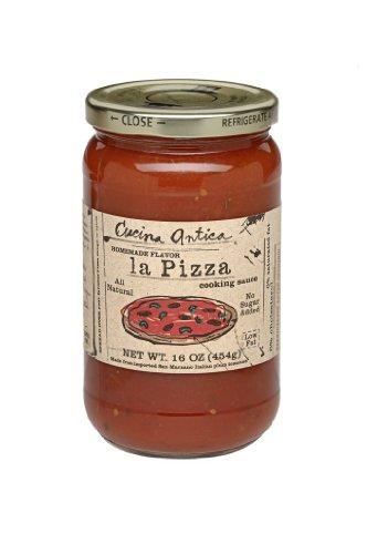 - Cucina Antica La Pizza Sauce, 16-Ounce Jars (Pack of 6)