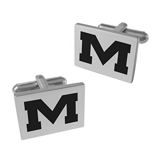 Cufflinks Rebels Ole Miss - Mississippi Ole Miss Rebels Stainless Steel Cufflinks