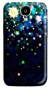 Colorful Shining Stars Samsung Galaxy S4 I9500 Hard Protective 3D Cover Case by Lilyshouse by icecream design