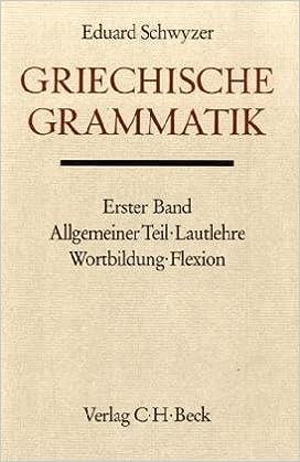 Schwyzer & Brugmann cover