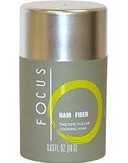 Focus Pure Organic Keratin Hair Building Fibers/hair Loss Concealer, 18 Grams/0.63 Oz. Per Bottle (55 Days Supply). (Medium Brown)