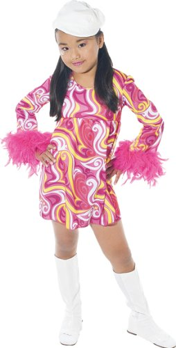 Paper Magic Group Go-Go-3 Girl's Costume, Large 10-12 -