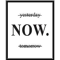 Cuadro Decorativo Yesterday Tomorrow Now Ayer Mañana Ahorita Despierta Motivación Get Shit Done Trabajo Trabaja Motivación Parate baila ríe llora Dancing moda Amor Impresion, Cuadro decorativo Print Love Te Amo Regalo Arte Poster Cuadro Decorativo Art Wall Art Vintage Decor Home Decor Decoración Retro Hipster Cool
