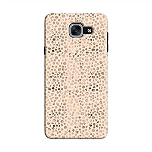 Cover It Up - Brown Pink Pebbles Mosaic Galaxy J7 Prime Hard Case