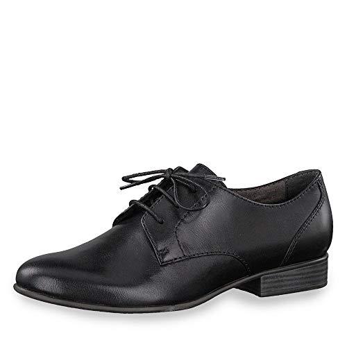 20 Tamaris 23218 De Zapatos Mujer 1 003 Cordones Para 1 Negro SrwxtqAEr