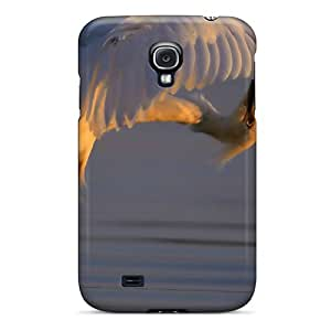 S4 Scratch-proof Protection Case Cover For Galaxy/ Hot Birds Snowy Egret Egrets Phone Case