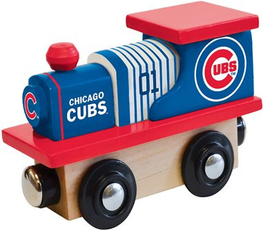 [MasterPieces MLB Chicago Cubs Toy Train] (Cubs Fan Costume)