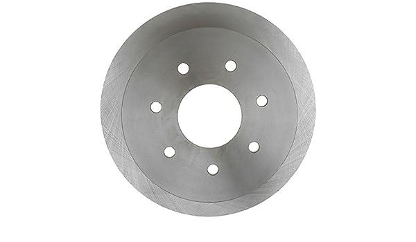 ACDelco 18A2543AC Advantage Coated Rear Disc Brake Rotor