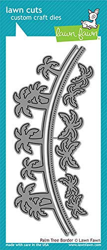 Lawn Fawn LF1979 Hammock And Trees Custom Craft Dies ()