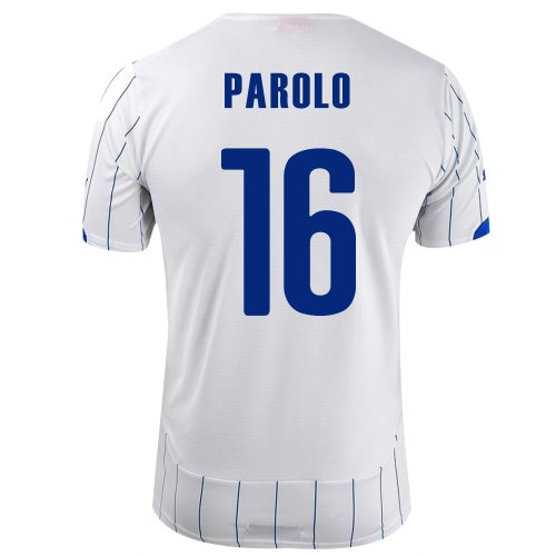 シャット階下ポテトPUMA PAROLO #16 ITALY AWAY JERSEY WORLD CUP 2014/サッカーユニフォーム イタリア代表 レプリカ?アウェイ用 ワールドカップ2014 背番号16 パローロ