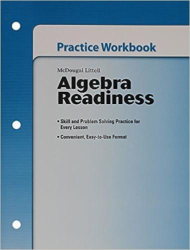 Amazon.com: Algebra Readiness: Practice Workbook (Student) Grades 6 ...