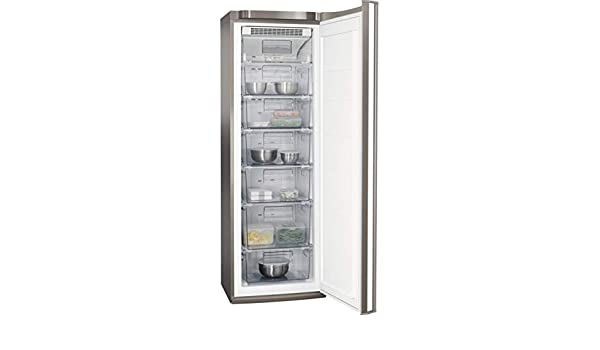 AEG AGB72526NX Congelador vertical de 1.85 m, Libre Instalación, 6 ...