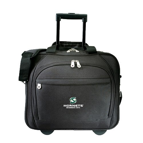 Sacramento State Embassy Plus Rolling Black Compu Brief 'Official Logo' by CollegeFanGear
