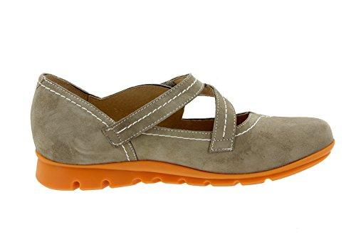 Chaussure femme confort en cuir Piesanto 6529 basket semelle amovible chaussure confortables amples Visón DzqvfWaeA