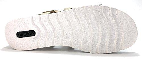 Amovible Beige Remonte Beige Femme Non Semelle D1164 Sandales qBIRU