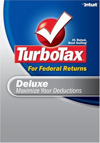 TurboTax Deluxe Federal 2007 [Download] [OLD VERSION] by Intuit