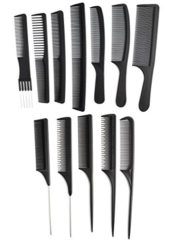 Professional Styling Comb (OneDor Professional Salon Hairdressing Styling Tool Hair Cutting Comb Sets Kit)