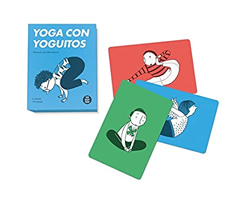 Yoguitos Juegos de Cartas con Baraja Específica