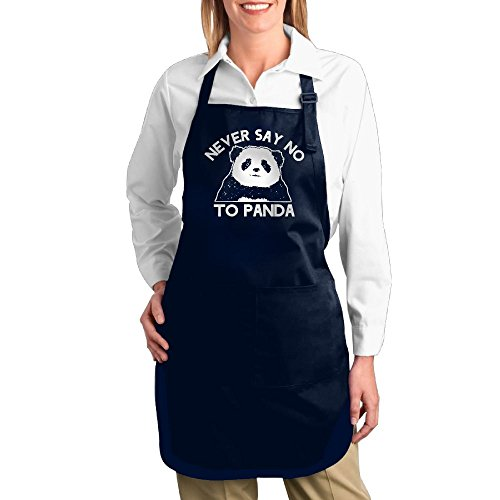 Devil In A Blue Dress Costume Ideas (Never Say No To Panda Unisex Adjustable Gift Idea Funny BBQ Chef Apron With 2 Pockets - Adjustable Neck Strap)