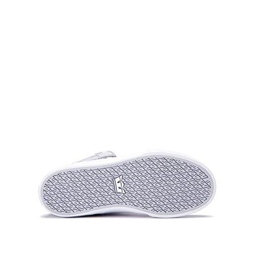 Supra Herren Skytop III Schuhe Hellgrau - Weiß
