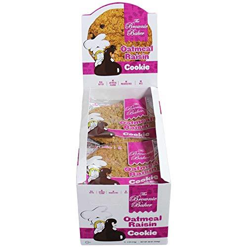 Brownie Baker Oatmeal Raisin Cookie, 4 Ounce -- 72 per case.