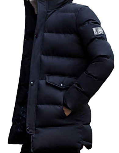 Puffer Jackets Down Thicken Blue Coats Men's Generic Long Warm OqXtcw0