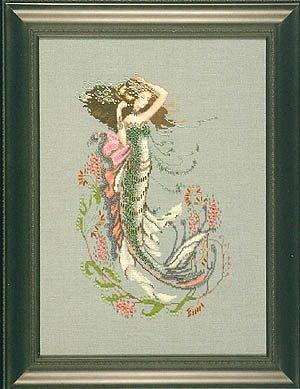 South Seas Mermaid - Cross Stitch Pattern