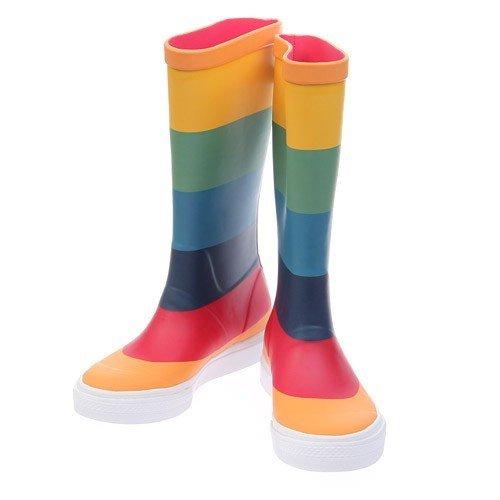 Bunt Flushrun Rainbow Originals Adidas Stiefel Gummistiefel 3RA54Lj