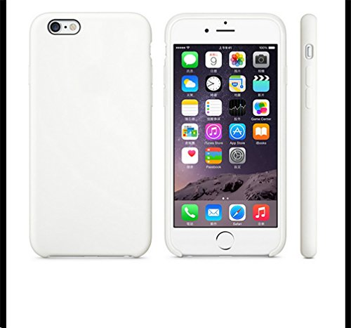 Anyos iPhone 5 5S SE Case, Liquid Silicone Gel Rubber Slim Fit Soft Skin Bumper Protective Cover for Apple iphone5 5S SE ()