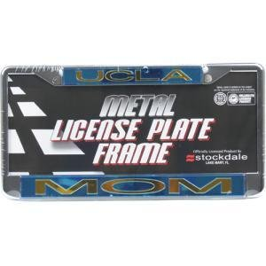 ucla bruins metal mom inlaid acrylic license plate frame