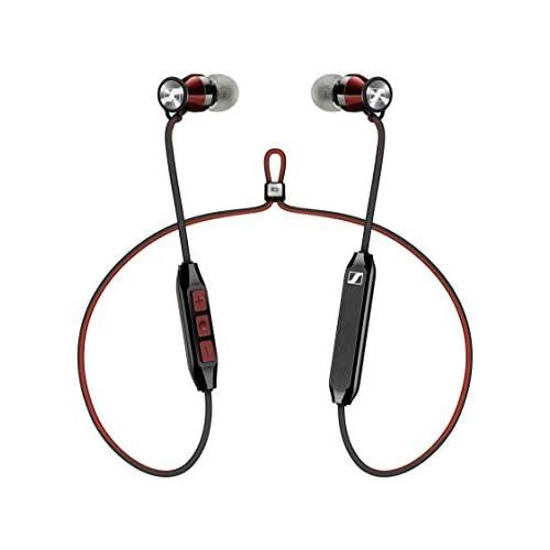 chollos oferta descuentos barato Sennheiser Momentum Free SE Edición Especial Auriculares Bluetooth 4 2 Qualcomm apt X Low Latency color rojo y negro