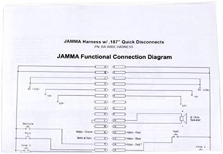 EG STARTS Arcade JAMMA 56 Pin Interface Cabinet Cableado de ...