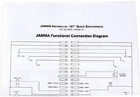 EG STARTS Arcade Jamma 56 Pin Interface Cabinet Wire Wiring ... on