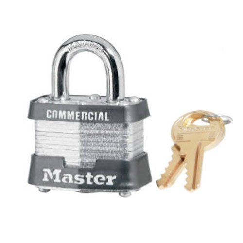 Master Lock Co CO 3KA-3769 1-9/16Laminated Padlock