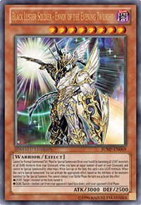 (3X) - Yu-Gi-Oh! Black Luster Soldier Envoy Of The Evening Twilight Ultra Rare Limited JUMP-EN069 PROMO card X3 by Unknown (Black Luster Soldier Envoy Of The Evening)
